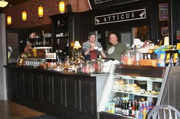 Atticus Coffee Shop Spokane